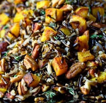 festive orange and black holiday rice dish ingredients 1 1 2 cups ...